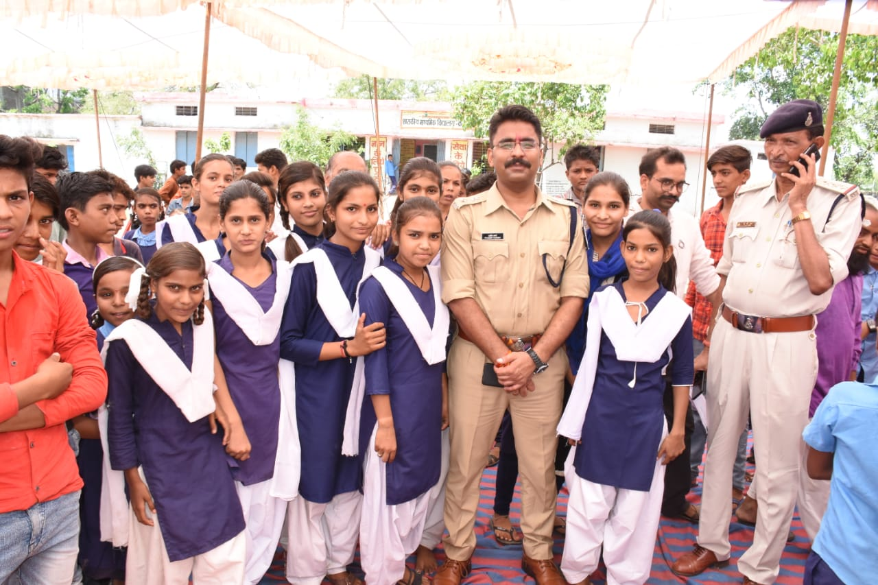 SP Sharma assures students to believe police as their friends