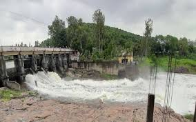 Two gates of Bhadbhada dam were opened after two years in Bhopal.