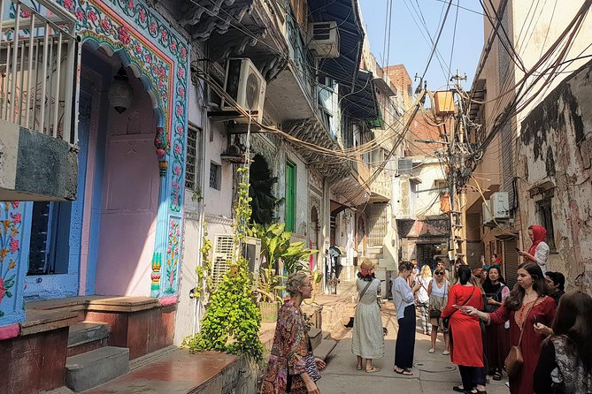 In The Lanes Of Old Delhi