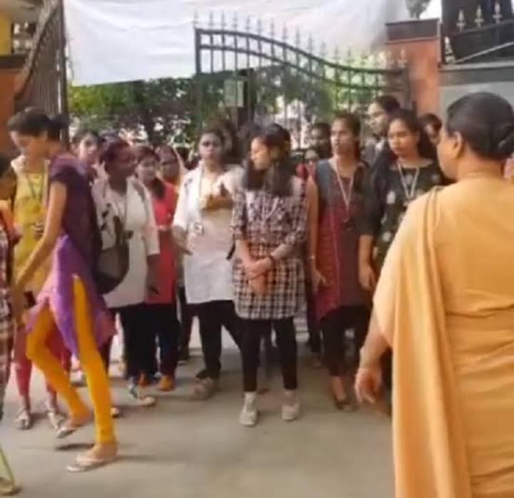 Hyderabad Girls College Bans wearing short kurtas in college premises .