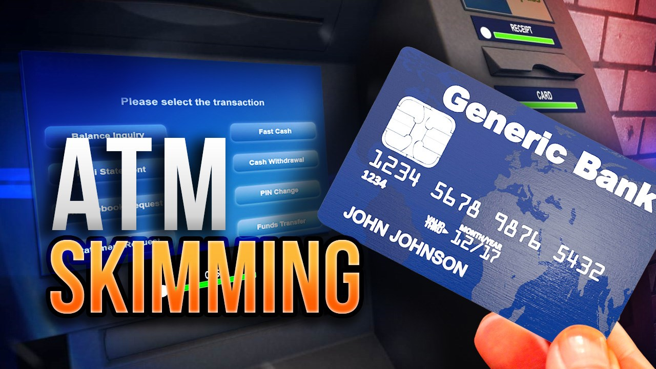 TO SAVE YOURSELF FROM ATM FRAUD #ATM SKIMMING