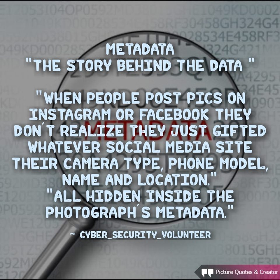 What Is Metadata In Photography