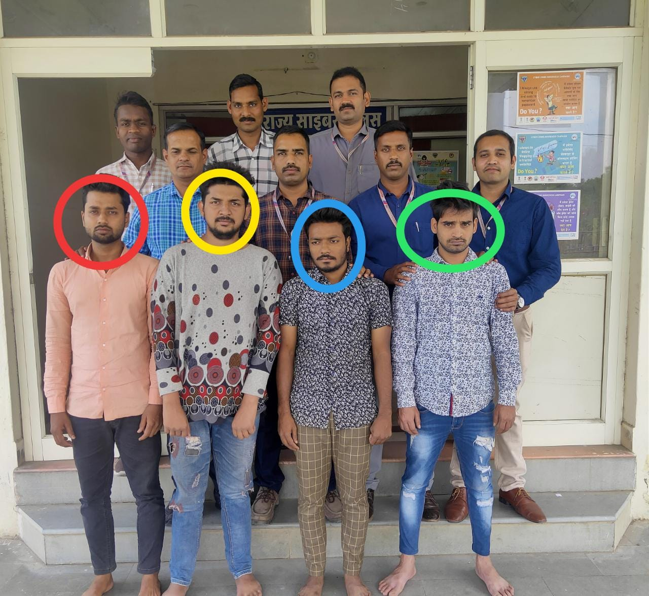 "International ""GANG OF CARDS"" busted by State Cyber police ujjain."